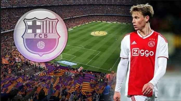 Frenkie de Jong Mendatangani Kontrak Dengan Barcelona