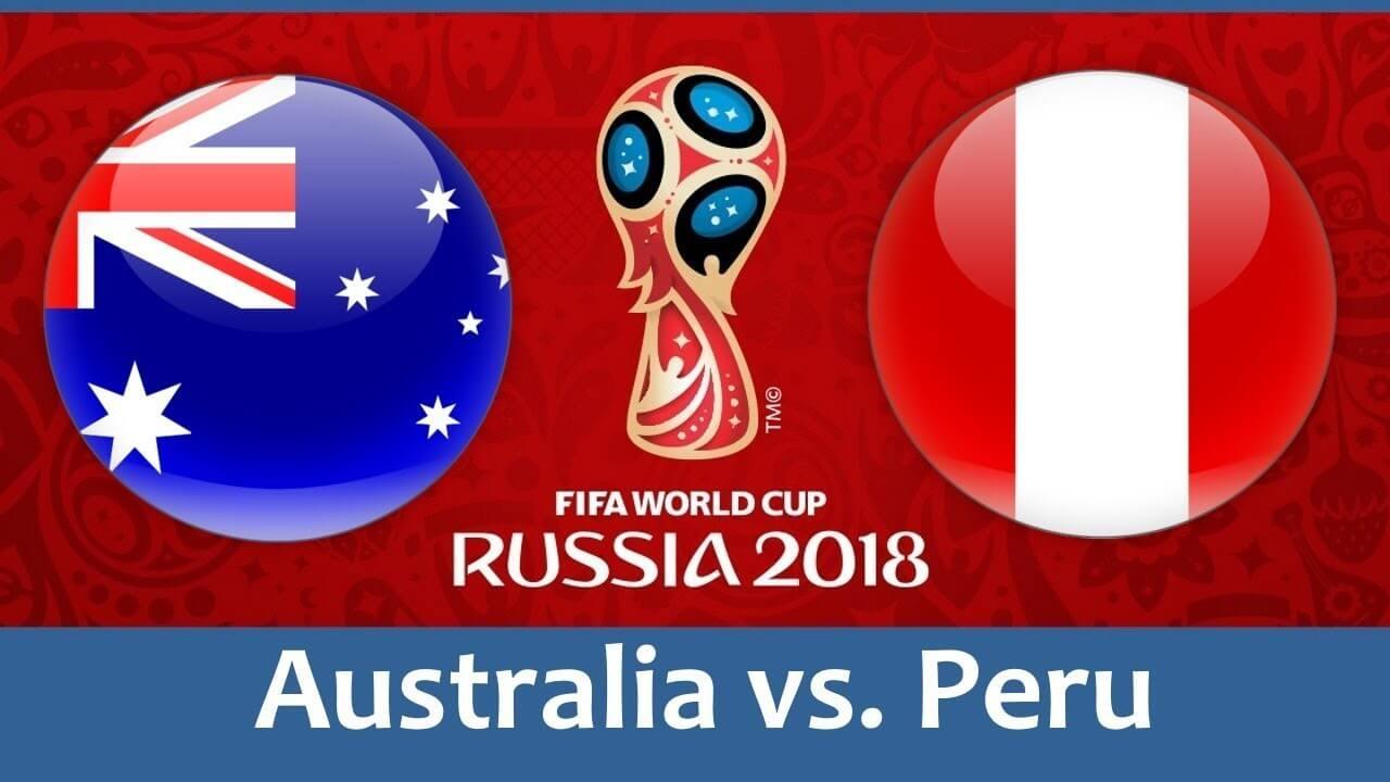 Hasil australia 0 vs 2 peru Piala Dunia 2018