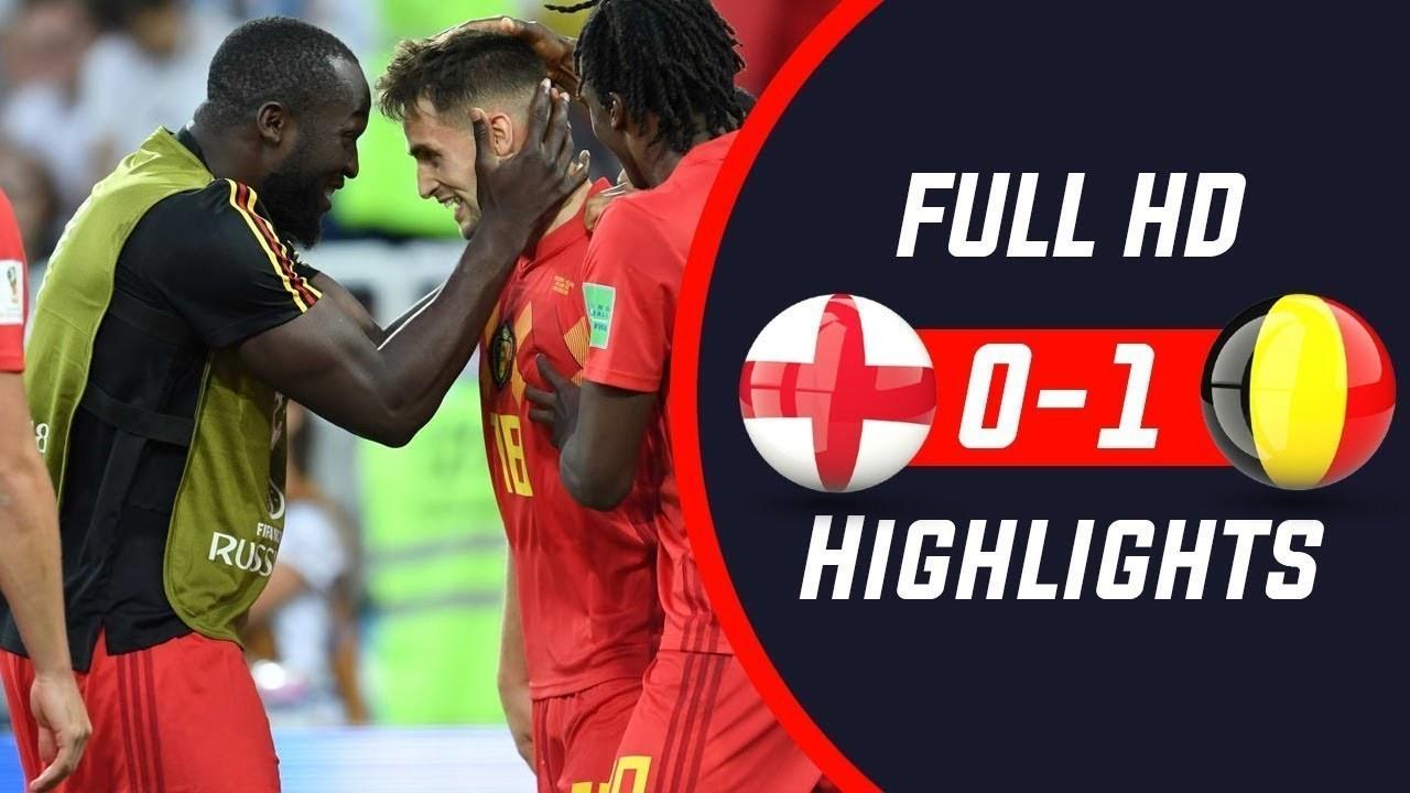 hasil pertandingan Belgia Vs Inggris