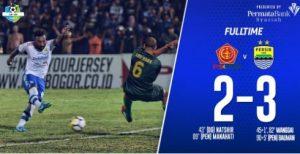 Hasil Liga 1 Indonesia-Persib vs PS Tira-skor 3-2