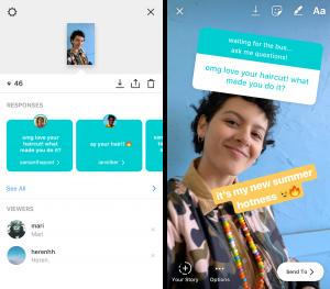 """Instagram Mengerluarkan Fitur Terbaru Yakni """"Question"""""""