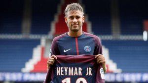 Neymar jr di Paris Saint Germain