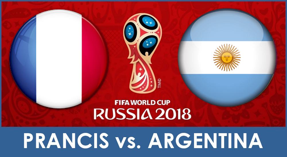 Prancis Vs Argentina babak 16 besar Piala Dunia 2018