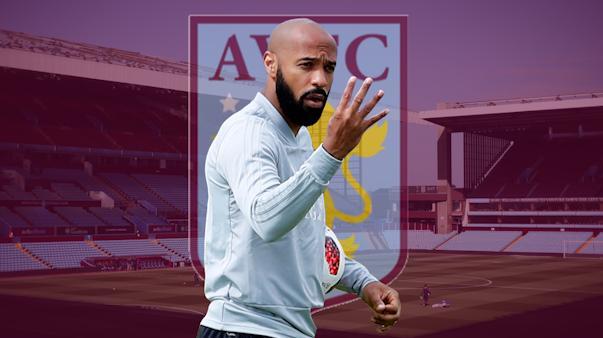 Thierry Henry Akan Menjadi Pelatih Aston Villa