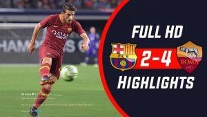 Hasil Turnamen ICC-Barcelona vs AS Roma- Skor 2-4