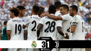 Hasil Turnamen ICC- Real Madrid vs Juventus- Skor 3-1