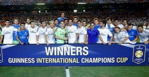 Pemain Real-Madrid International ChampioCup