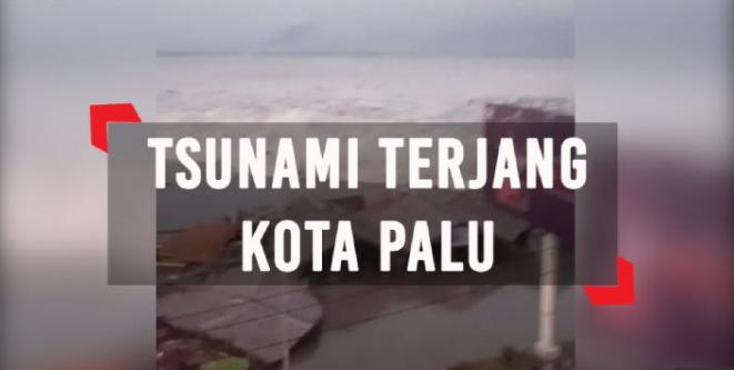 Dampak Gempa Dan Tsunami Di Kota Palu