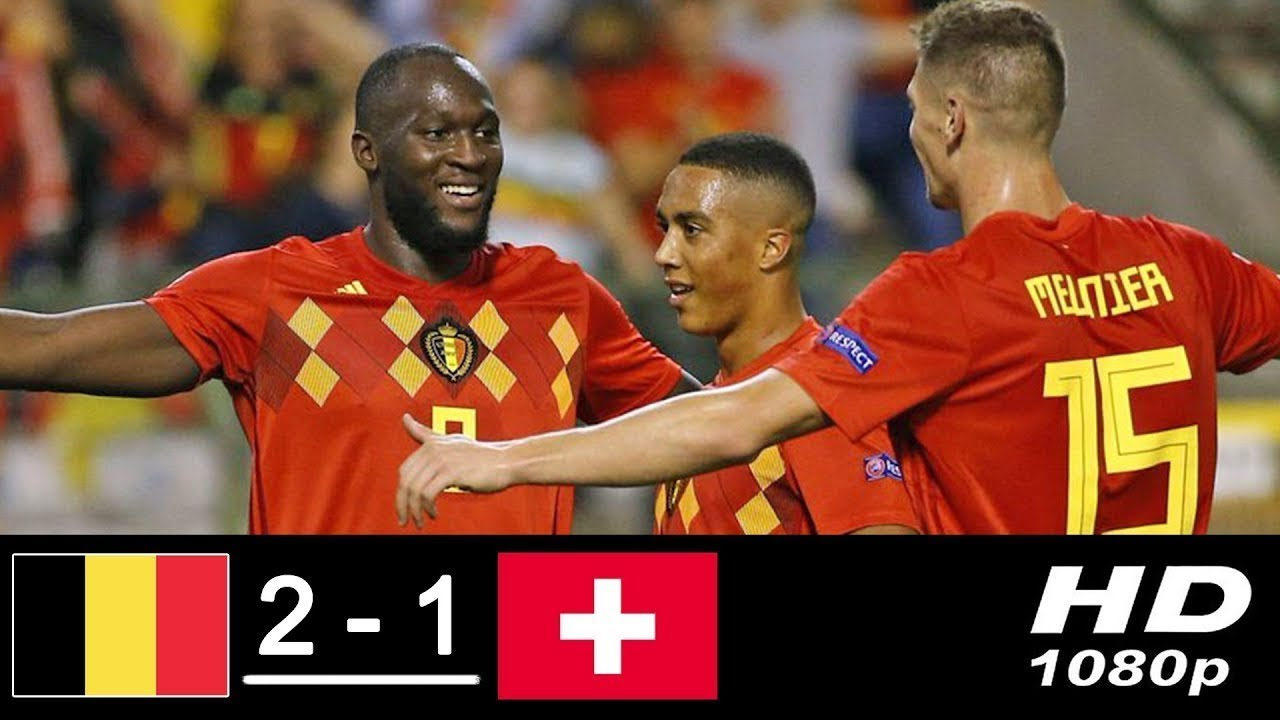 Hasil Belgia 2 vs 1 Swiss