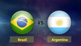 Hasil Brazil Vs Argentina Di Pertandingan Persahabatan