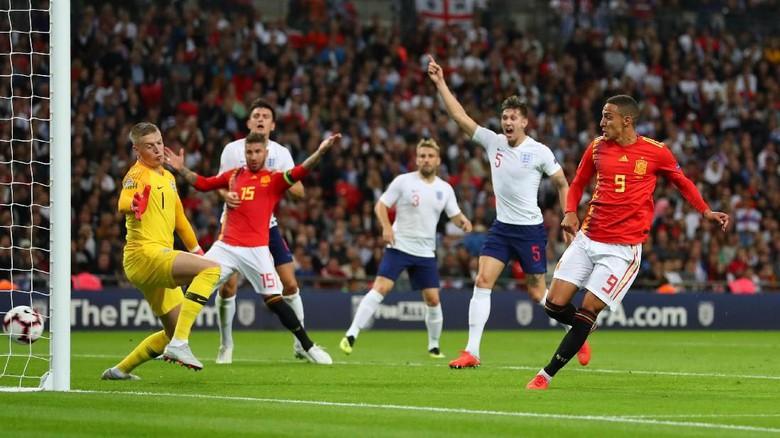 Hasil Nations League antara Spanyol vs Inggris ...