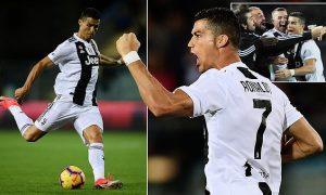 Ronaldo cetak gol kemenangan Juve