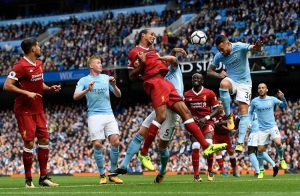 pemain Liverpool FC Vs Manchester City