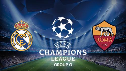 Hasil Liga Champions Real Madrid Vs AS Roma