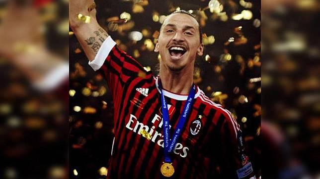 Ibrahimovic ke AC Milan