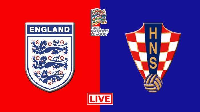 Inggris vs Kroasia di UEFA Nations