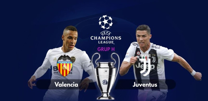 Hasil Liga Champions: Juventus vs Valencia