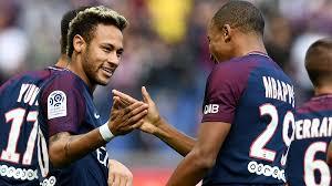 Neymar dan Kylian Mbappe klub PSG