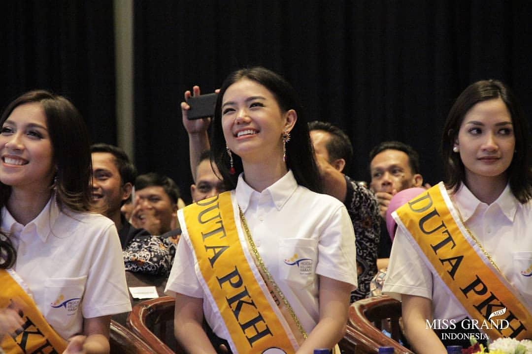 Vivi Wijaya 1st Runner Up Miss Grand Indonesia 2018 Asal Sumatera Utara