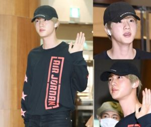 Alasan Jin BTS Tidak Pernah Memakai Masker Saat Di Bandara