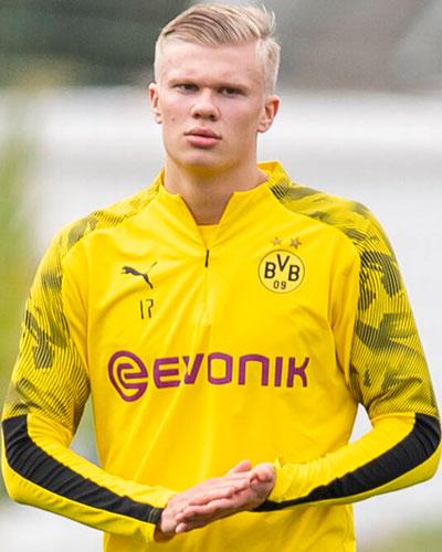 Erling Haaland Pemain Terbaik di Bundesliga Bulan  Januari, 59 Menit 5 Gol
