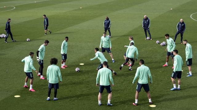 Pemain Real Madrid lakukan Latihan dirumah Pada Saat Karantina Virus Corona